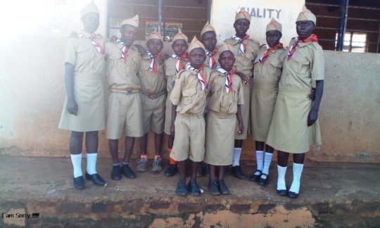 Boys & Girls trained with 12 principles, scouting