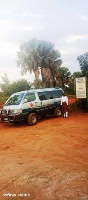 Lidya thanked GlobalGiving, Donors & KIFA: For Van