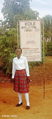 Lidya posses at Kole Intellectual Forum: Institute