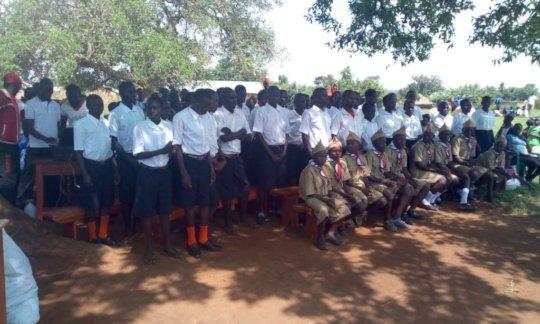 Transforming community, uniform for children:KIFA