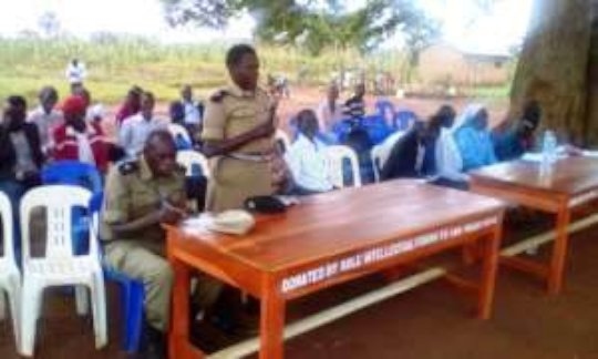 Police officers give their views