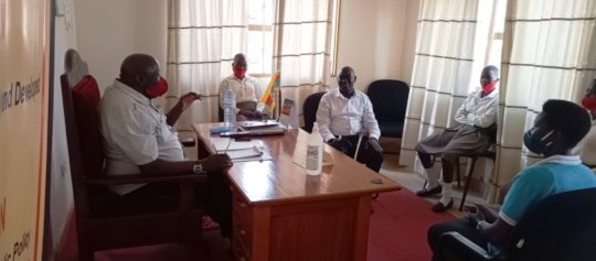 A courtesy call to the office of RDC: KIFA