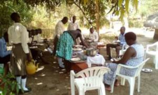 Caring for one another: meals share with all
