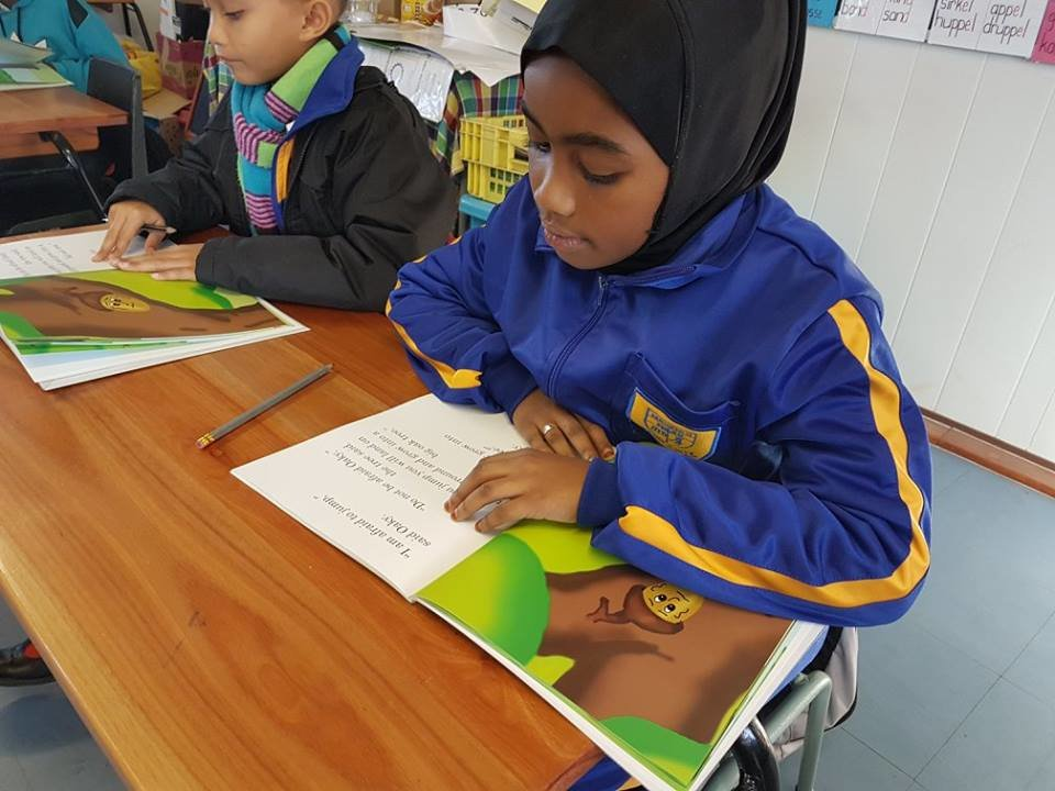 Van to conduct literacy programmes in South Africa