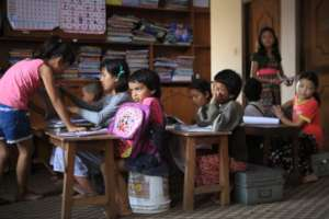 Gift of education to change begins with her,,,