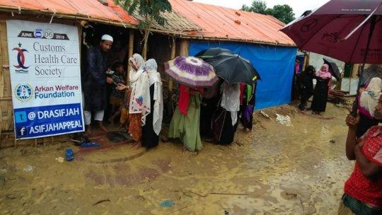relief for Rhongya Muslims