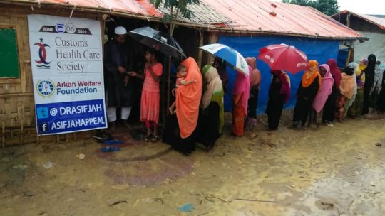 Distribution of Relief goods