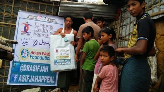 Relief for Rohingya Refugees.