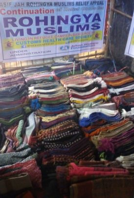 Warm Clothes for Rohingya Refugees