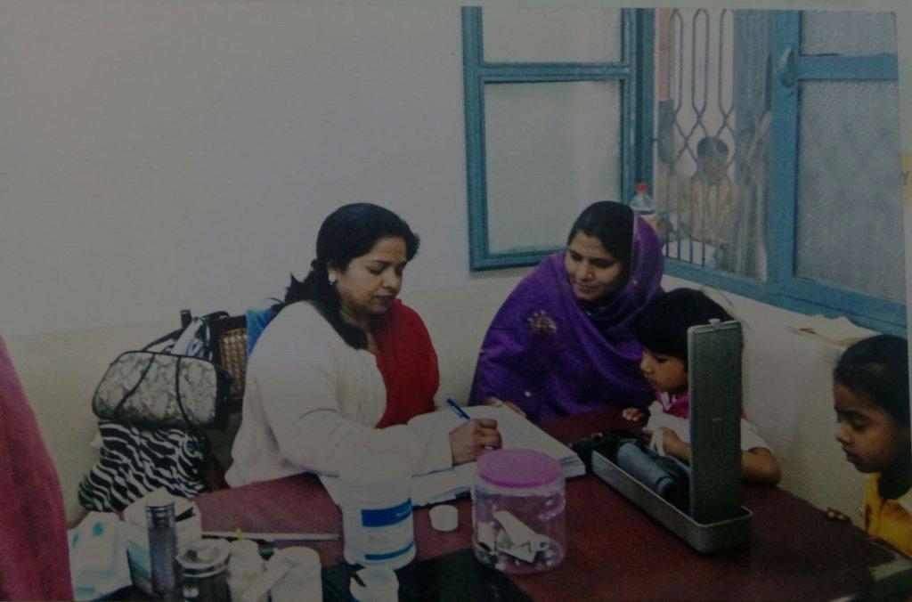 """Sangat""Health Center for 40 marginalized villages"