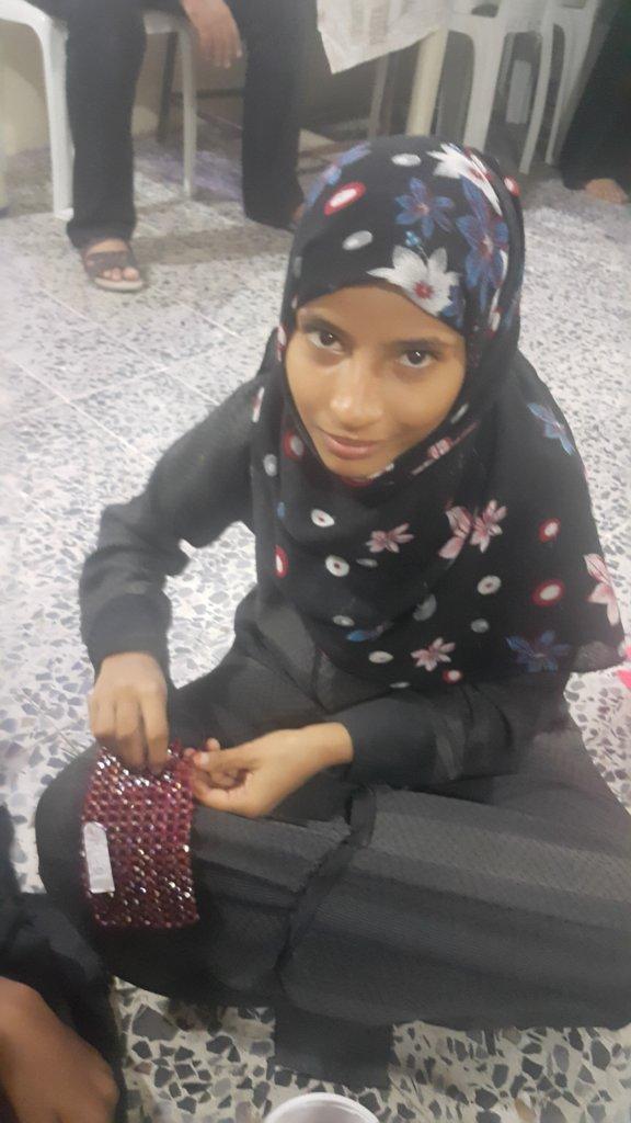 Sewing Machine to a Displaced Women In Yemen