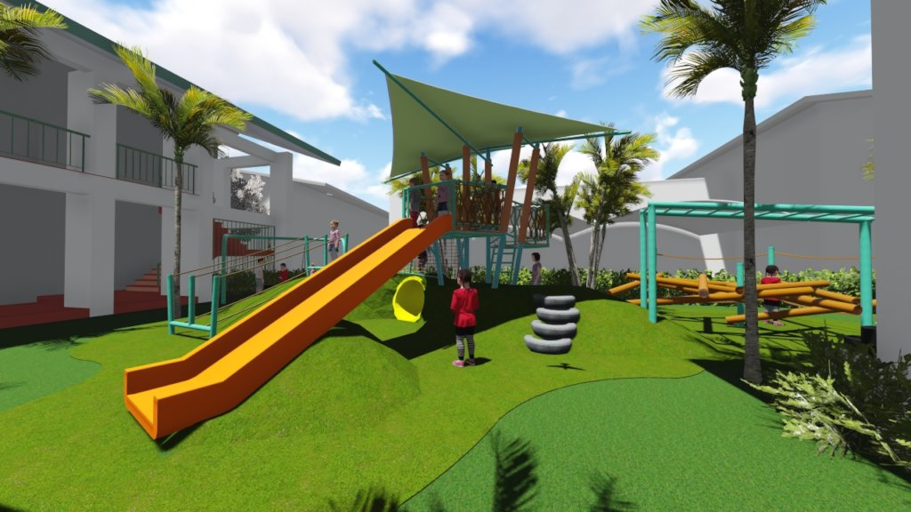 Outdoor Playground for Grade School Students