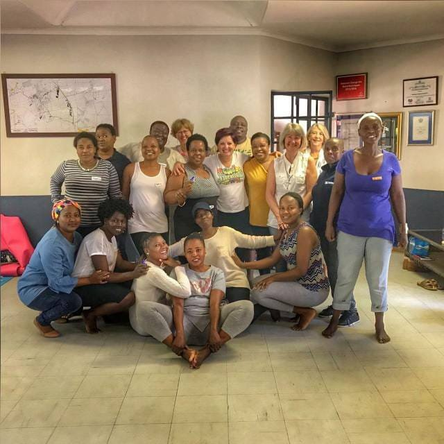 Community Health Workers TRE training group