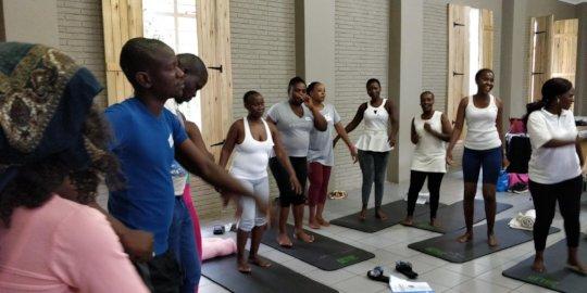 TRE community facilitators in training