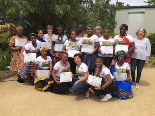 TRE Community Facilitators graduation ceremony