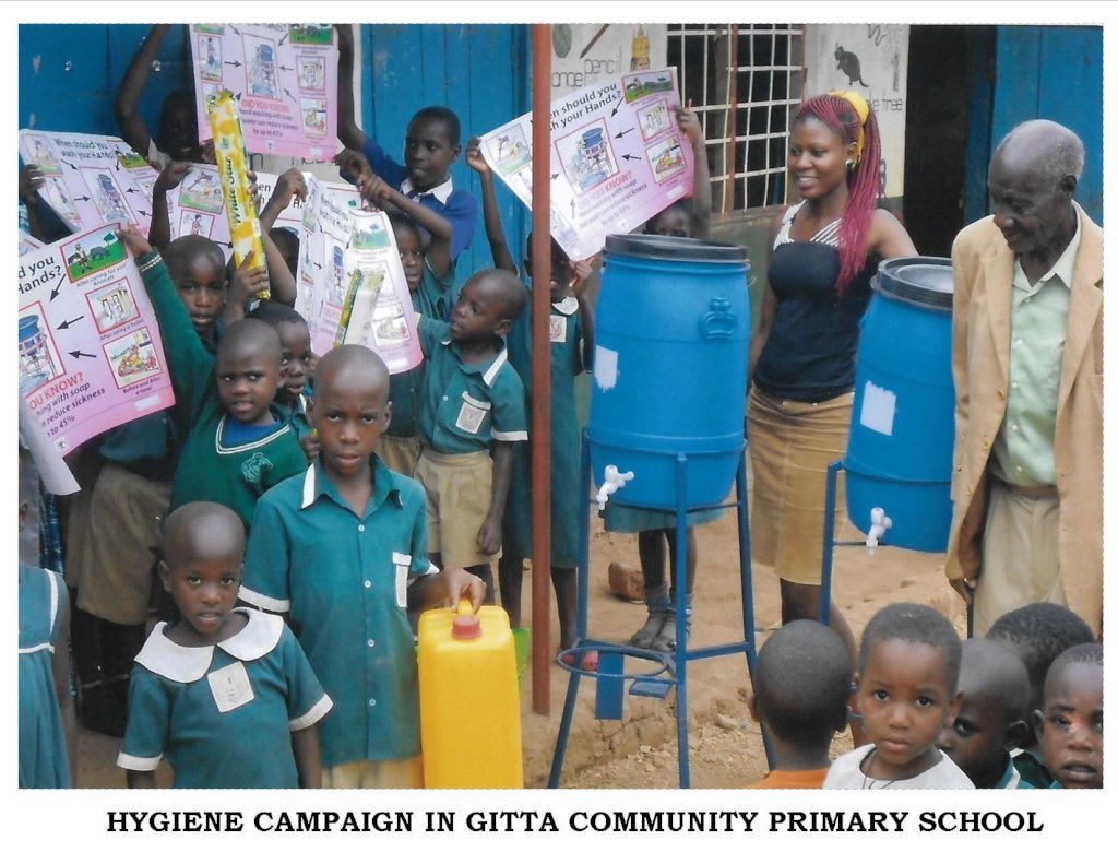 Safe Water and Good Hygiene Campaign in Uganda