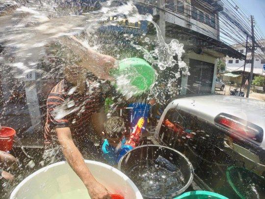 Songkran Water Party