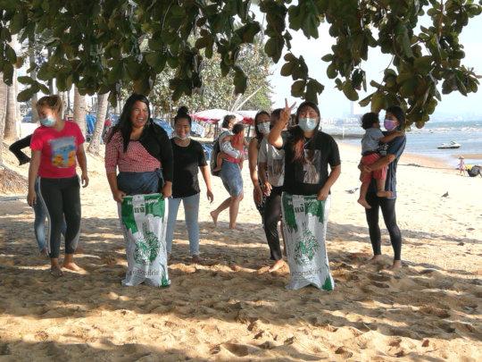 Tamar Team at the Beach after lockdown