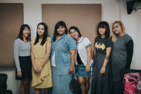 The six women that started the Training Program