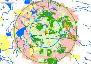 Map of Auroville`s land holding - 44 forests (PDF)