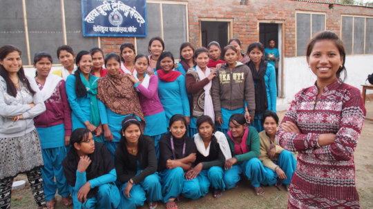 Vocational Training for Freed Child Slaves, Nepal