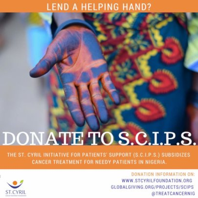 Give a  colorful helping hand