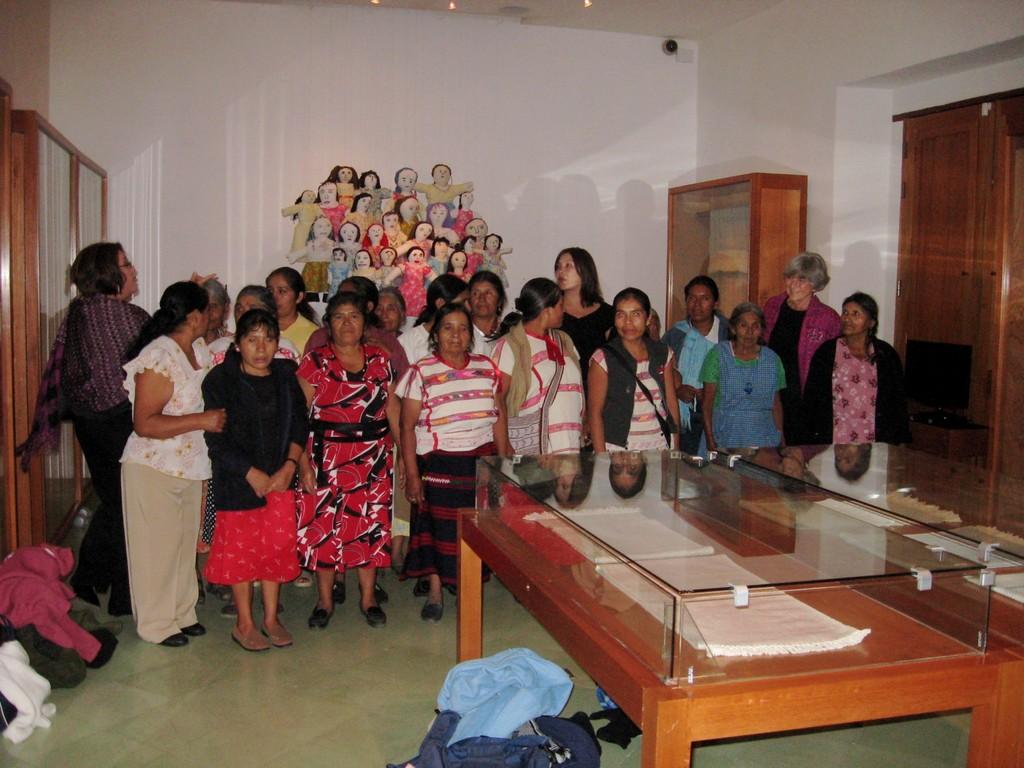 Exhibit at Museo de Textil  in Oaxaca