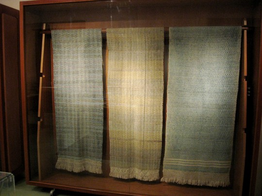 Exhibit at Museo de Textil  in Oaxaca