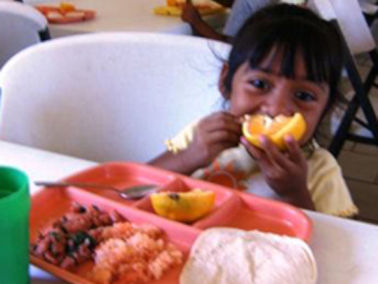 Build a Cafeteria to feed 150 children in Mexico