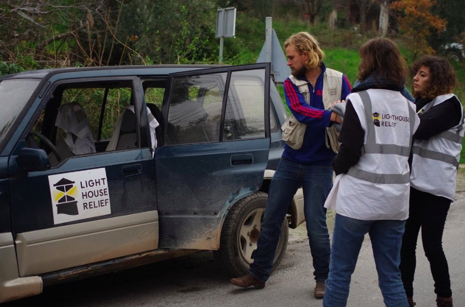New Landing Car for Emergency Response in Lesvos!