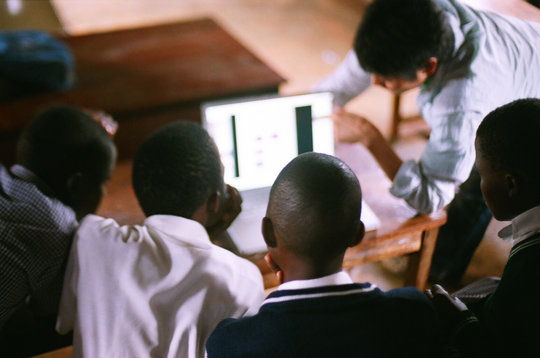 Internet Cafe in Lyantonde, Uganda