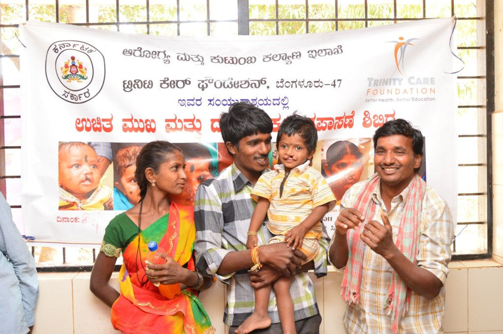 Gift a Smile to 81 Cleft Children in India