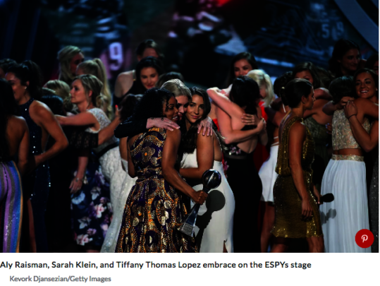 Brave survivors of Larry Nassar sexual abuse