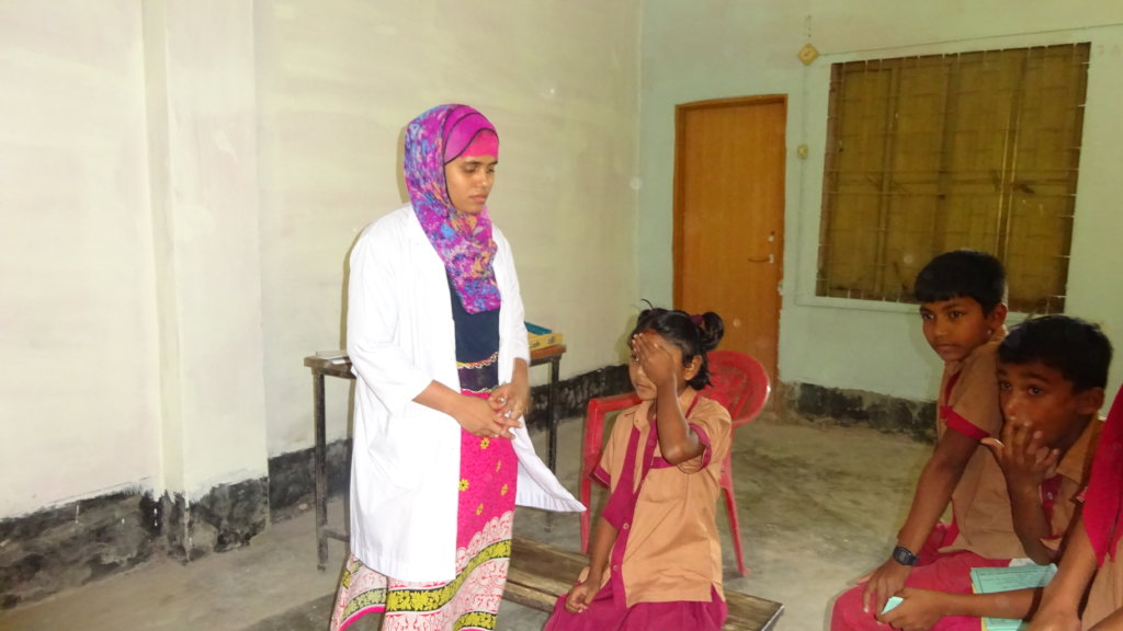 Clear Eyes and Jobs for Women in Rural Bangladesh