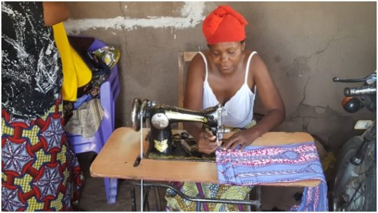 The 24 women will learn how to sew.