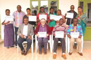 I4th International HROC Training participants.