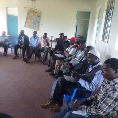 Male participants - HROC basic training in Nomorio