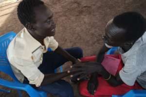 Dinka and Nuer in Affirmation Exercise