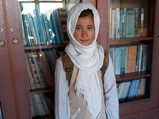 Shukria, Rahnaward Student