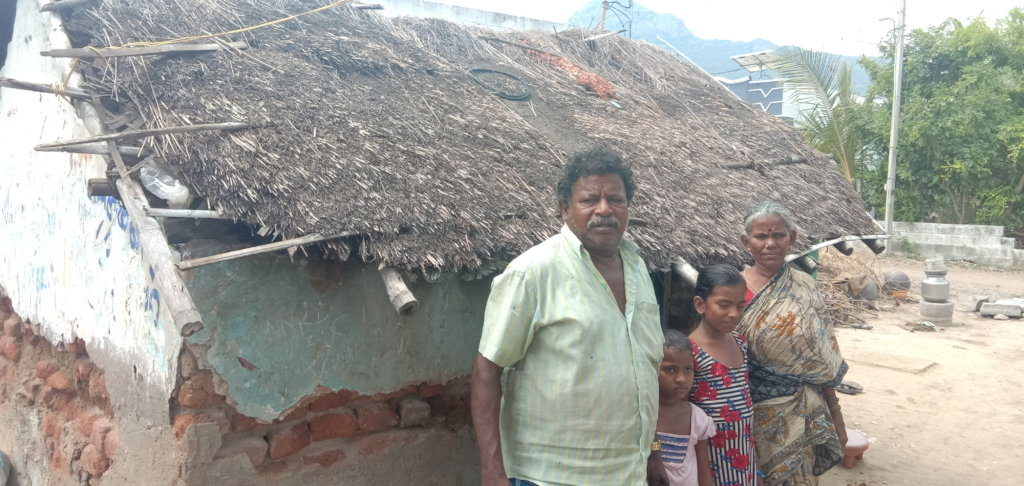 To Renovation  damaged and semi houses  to poor
