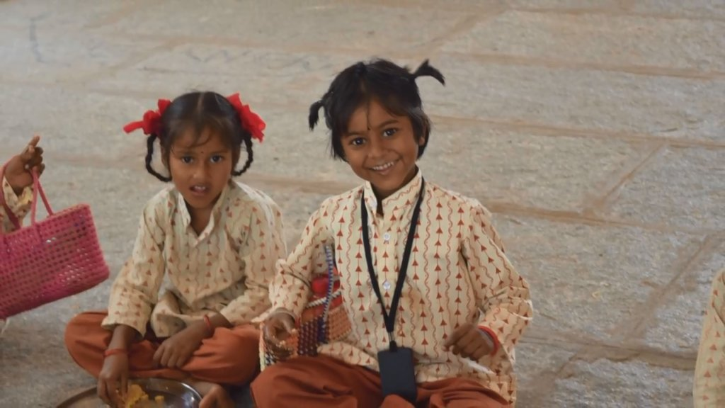 Nutritious Noon Meal for 156 India Rural Students