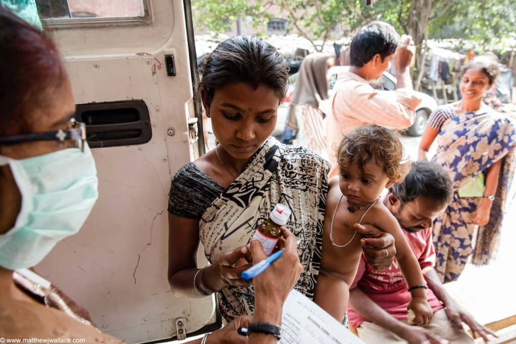 Healthcare for 8,000 people from Kolkata slums
