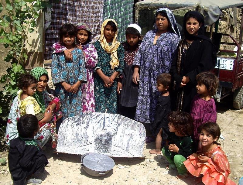 Solar Alternative to Kerosene Lamps in Afghanistan