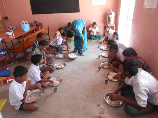 To Provide meals to childrens with disabilities