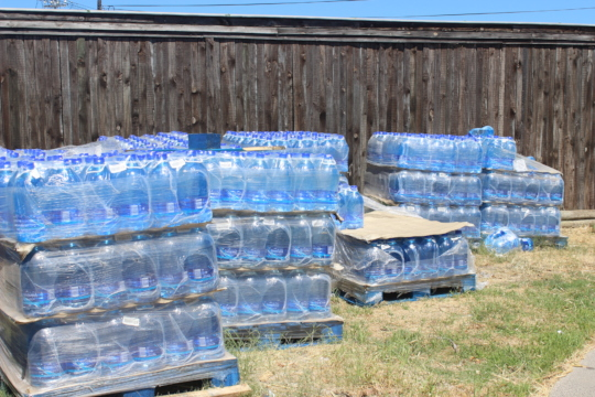 The water we have been able to buy with your help