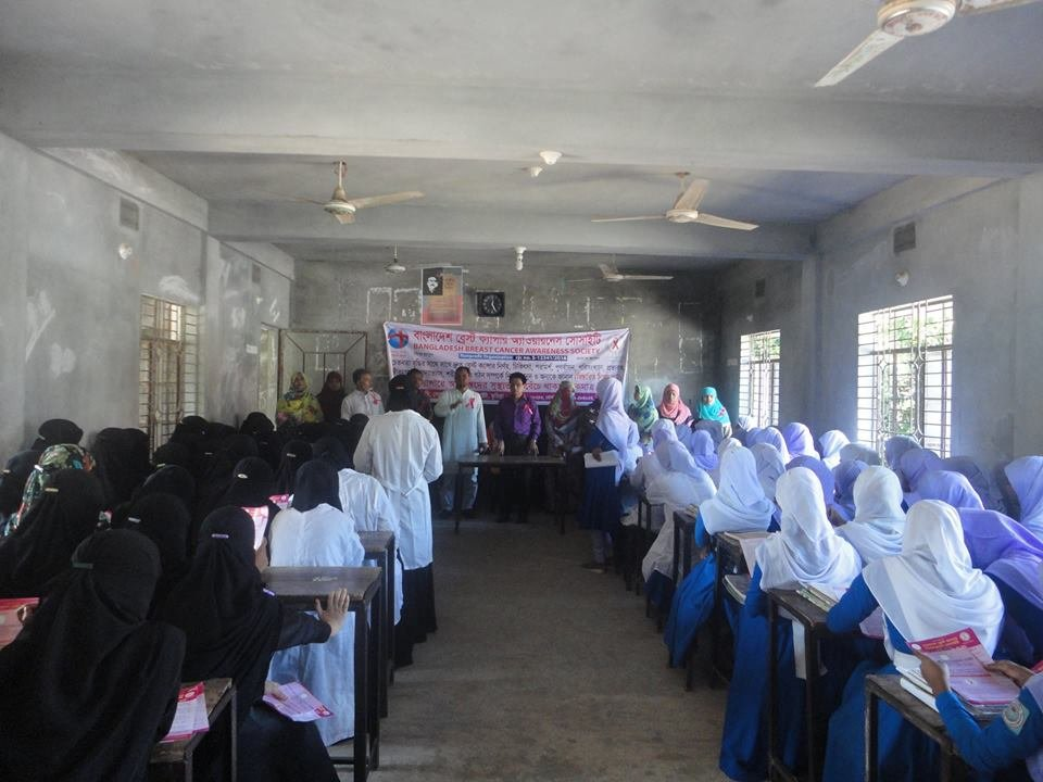 Increase Breast Cancer Awareness in Bangladesh