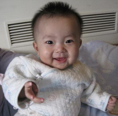 Little YiNa Smiling