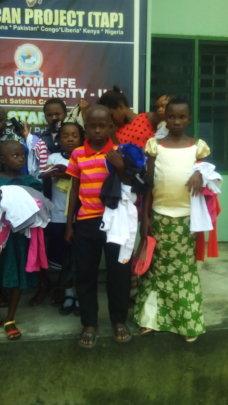 SHOES  FOR ORPHANS OUTREACH NIGERIA