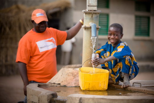 Clean water for 1 new person every 10 seconds