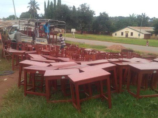 Loading at Carpenter shop in Kigoma